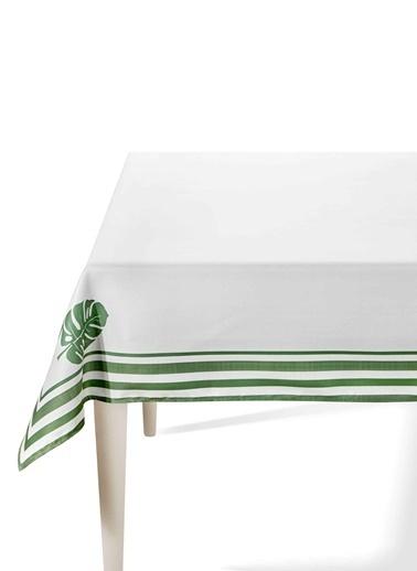 Morhipo Home Masa Örtüsü 150x230 cm Mostera Yeşil